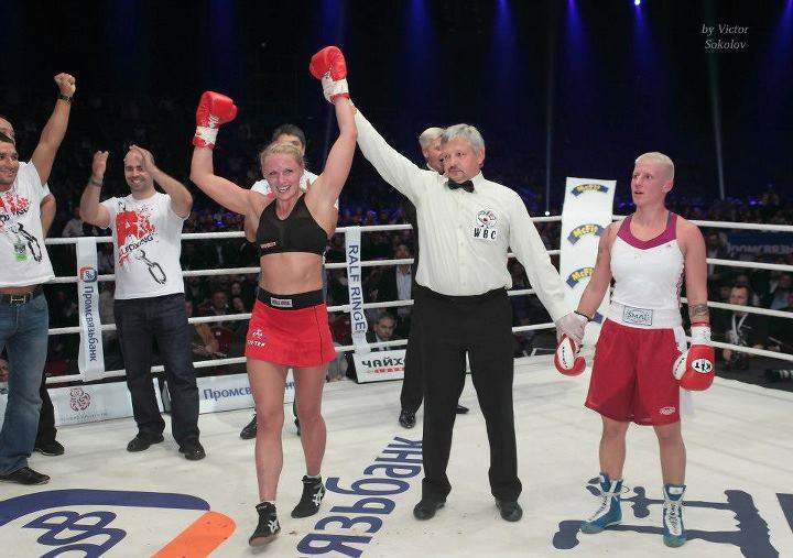 Svetlana Koulakova championne de Boxing et Kickboxing