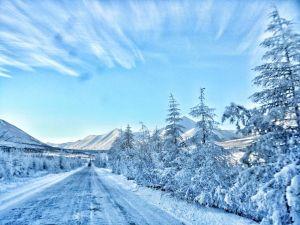 Marie de la Ville Bauge Russian Winter