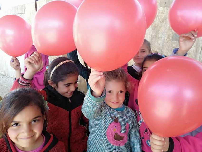 Ghaida-Hussein_Inspiring-Kids-and-Adults_Syria_School-Fouder-for-Refugee-Kids_Save-The-Children_MadameSuccess