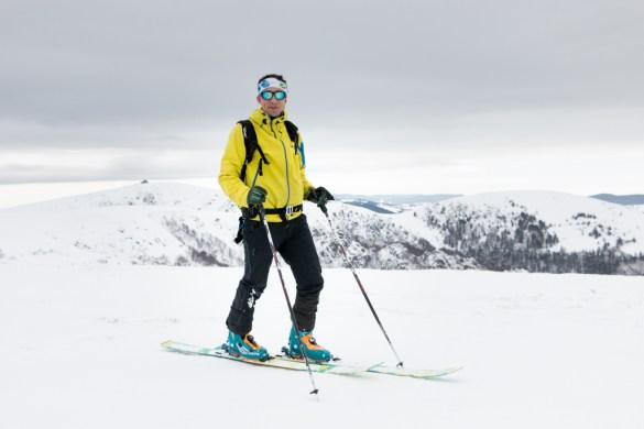 débuter le ski de randonnée, dans les Vosges, blog madame vo
