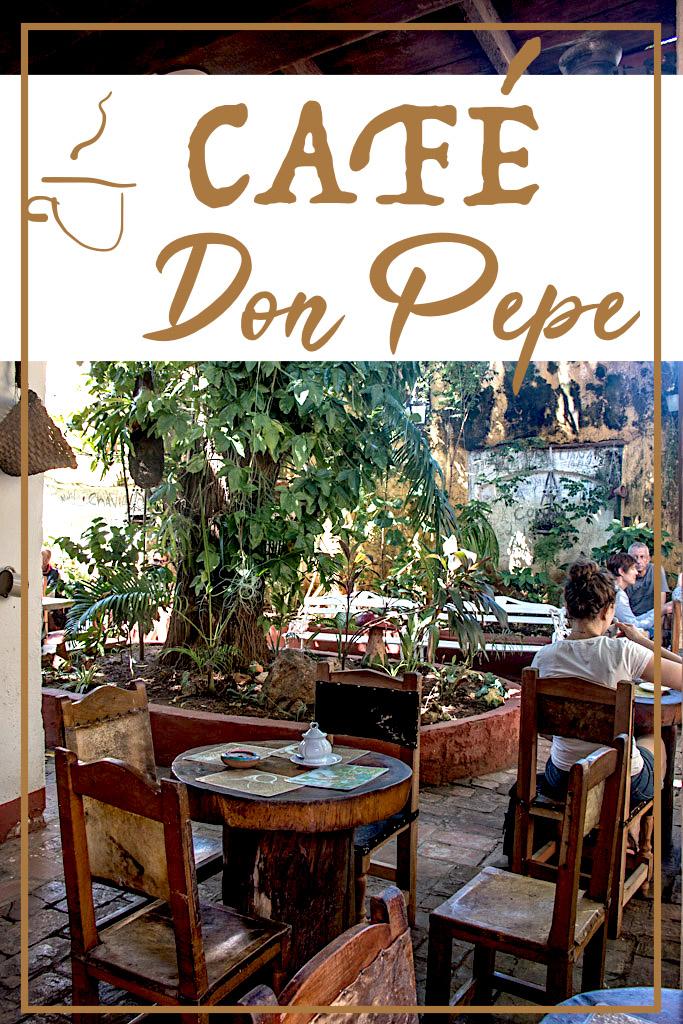 Blog Madame Voyage a Cuba Trinidad Cafe Don Pepe