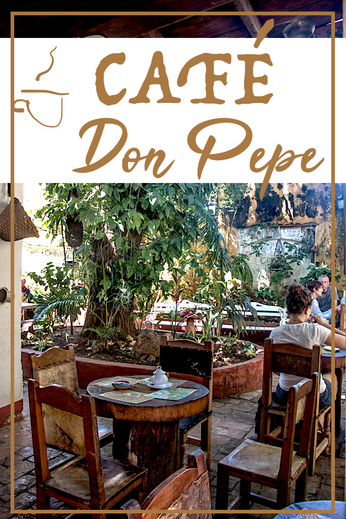 Blog Madame Voyage a Cuba Trinidad Cafe Don Pepe