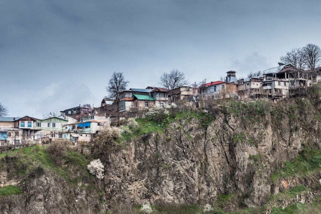 La ville de Borjomi, le petit Caucase en Géorgie