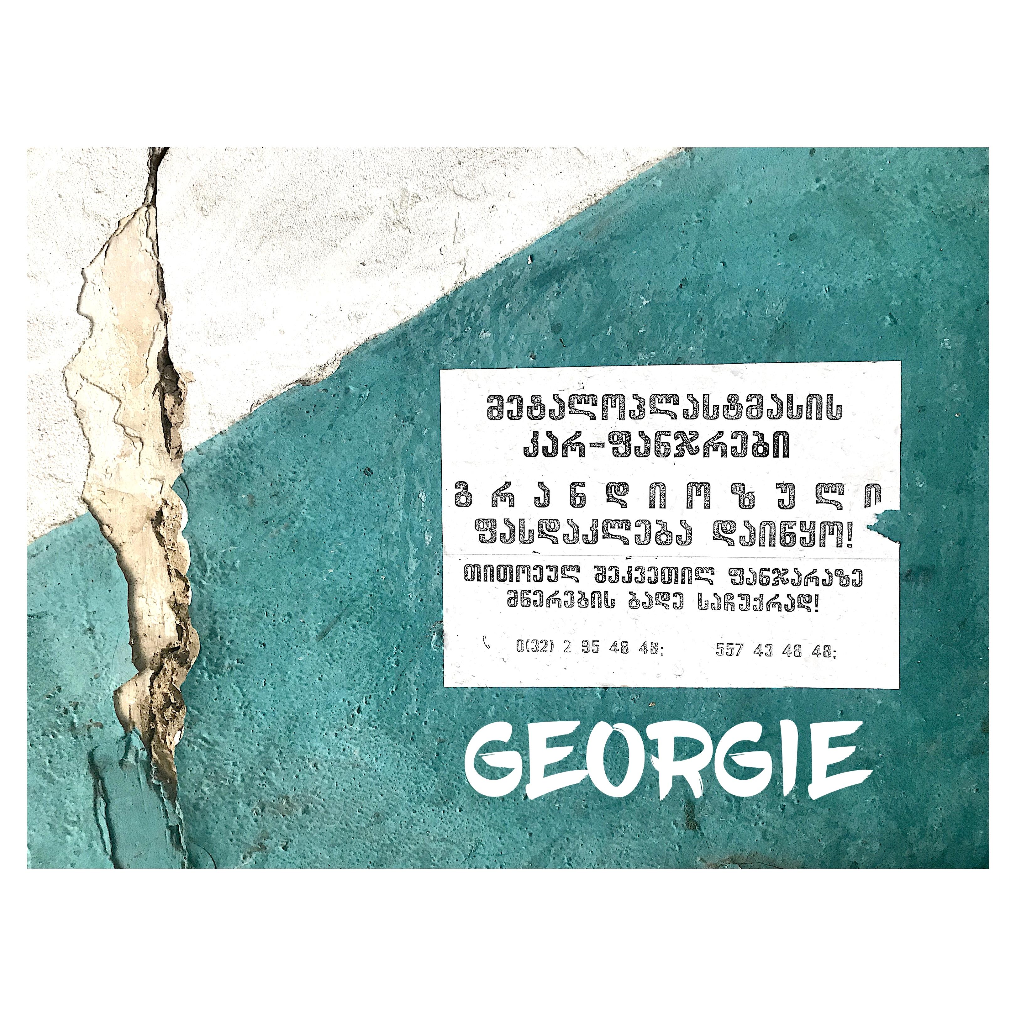 ecriture georgienne, bienvenue en georgie a tbilissi