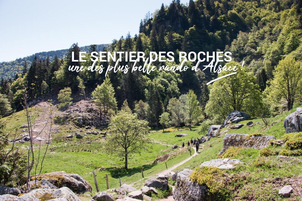 Le sentier des roches, l'une des plus belles randonnées du Massif des Vosges en Alsace