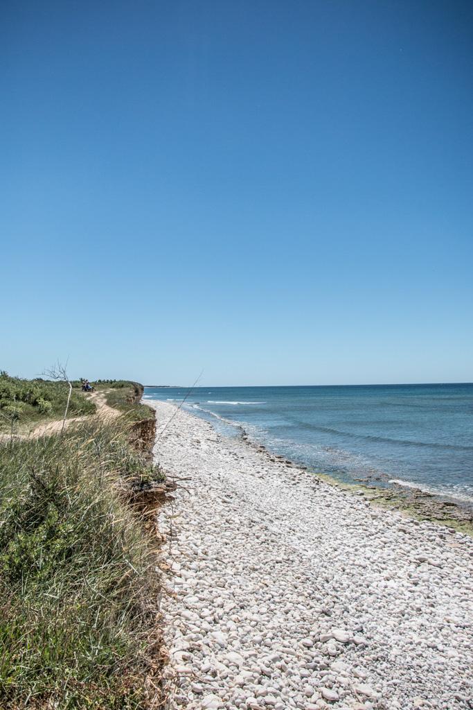 La plage Les Huttes, île d'Oléron