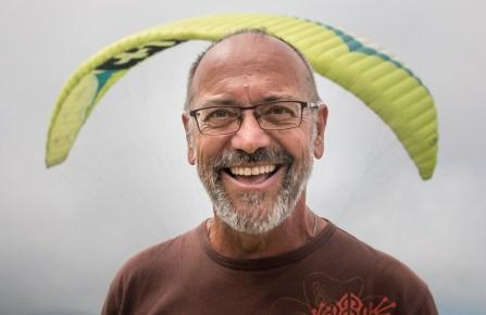 Portrait de mon instructeur John du club Air Lagon Parapente sur l'ile de la reunion