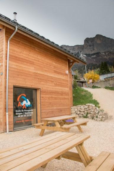 Ecole de parapente Air Alpin à Saint Hilaire du Touvet
