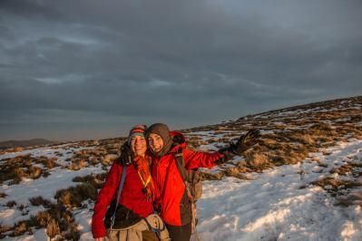 Audrey et Marion au sommet du Hohneck dans les Vosges Marion Prigent Photographie Madame Voyage