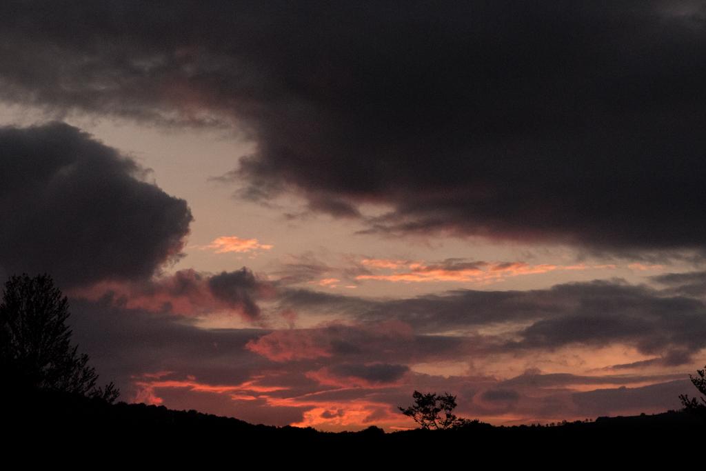 coucher de soleil au refuge du langenberg la nuit des refuges dans les vosges blog madame voyage