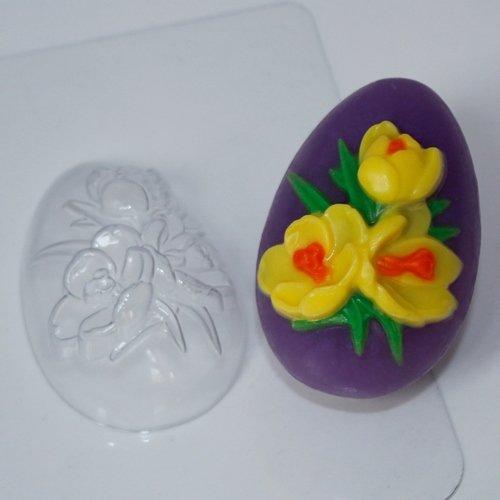 Пластиковая форма Яйцо крокусы
