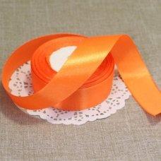 Лента атласная цвет Оранжевый