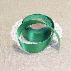 Лента атласная цвет Зелёный