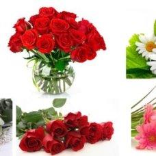 Водорастворимая бумага Цветы