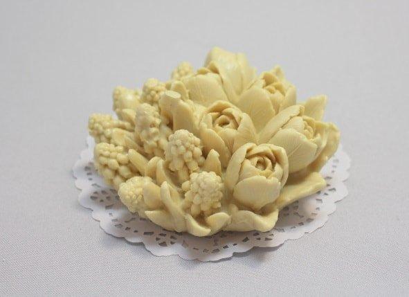 Букет тюльпанов и цветы Силикон 3Д