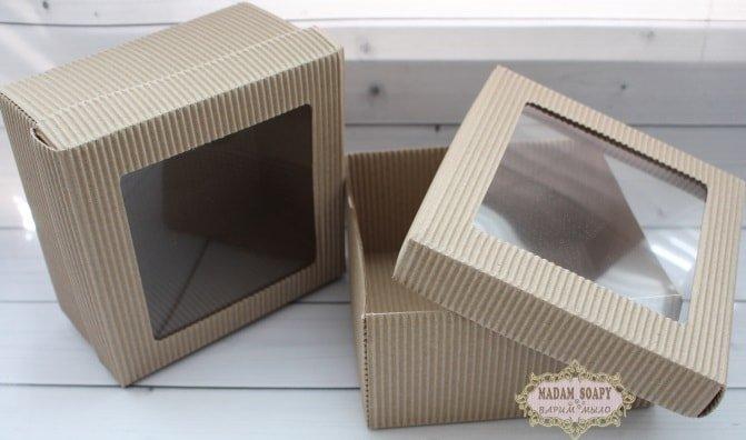 Коробка Гофро под наборы 14*14*7см