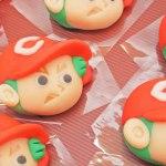 【カープ公認】老舗和菓子屋さんのカープ坊やが超人気!
