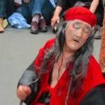 その名はギリヤーク尼崎大道芸人!限られた命を踊り続ける理由は?