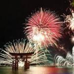 宮島水中花火大会2017歴史絵巻の日程と穴場スポット