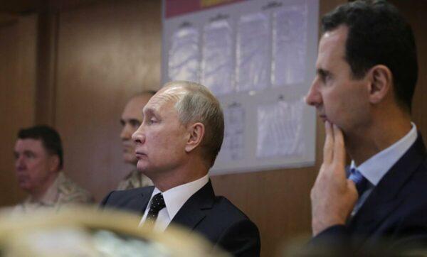 بشار الأسد وبوتين - وكالات