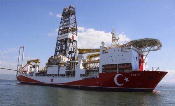 الفاتح في البحر الأسود وكالتا 1 600x362 - تركيا.. سفينة جديدة ستنضم إلى الفاتح عام 2021 للتنقيب في البحر الأسود - Mada Post