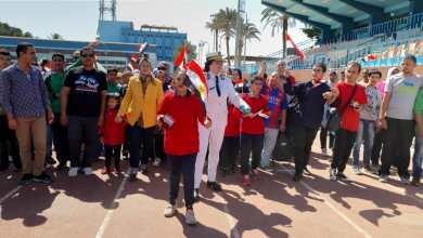 احتفالية الطلاب ذوي الإعاقة بيوم في حب مصر