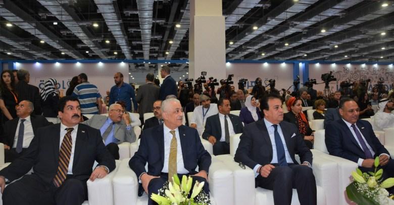 وزير التربية والتعليم يشارك في افتتاح معرض القاهرة الدولي السادس للابتكار 2019