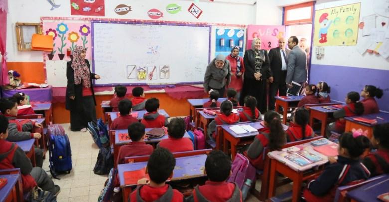 المدارس التجريبية لغات فى المطرية