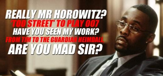 Idris Elba 'too Street' to play Bond