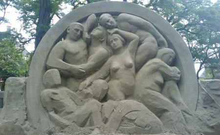 zand-scultpuren