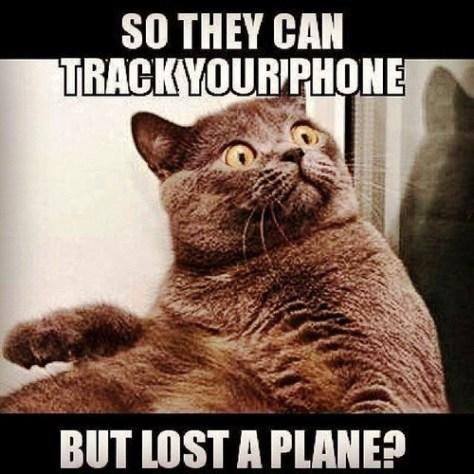 track phone lost plane