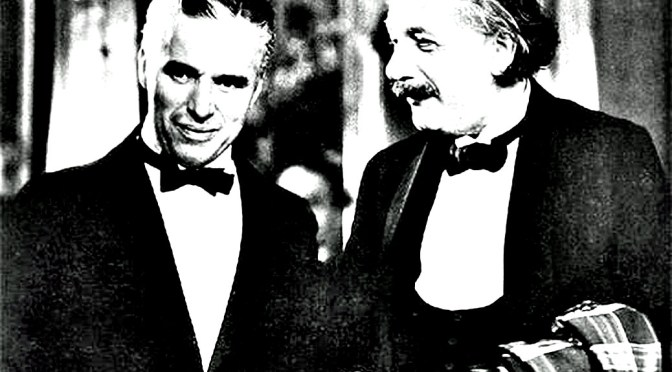 Albert Einstein vs. Charlie Chaplin