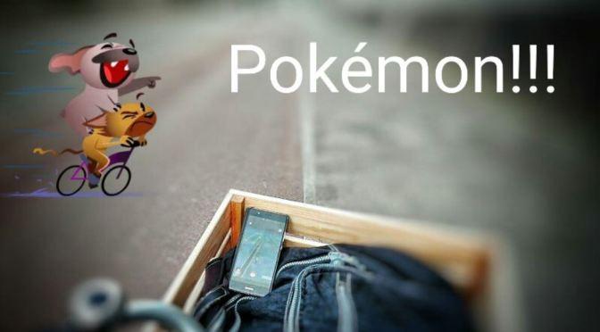 Pokémon Jacht op Fiets? Neem een Bakfiets