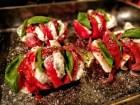 Tomaten en mozzarella van de Grill