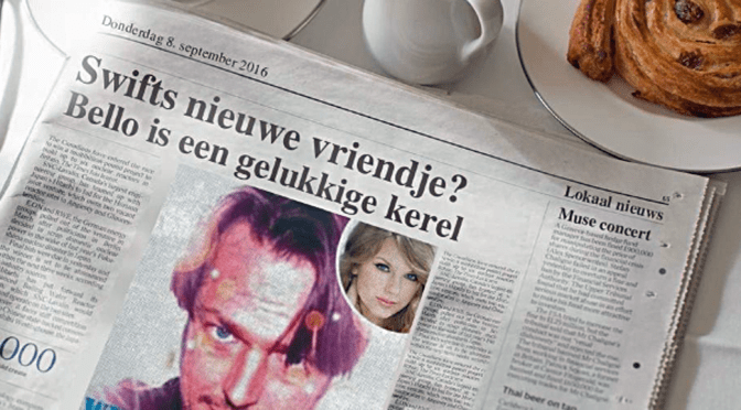 Sta Weer in de Krant