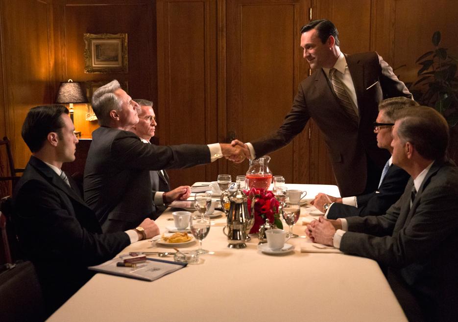 Image result for Mad Men Client Dinner