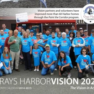 Grays Harbor 2020 calendar