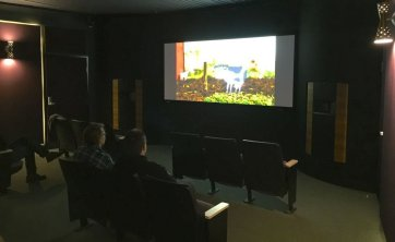 CowBurd screening at Hollywood Theatre's new microcinema at PDX
