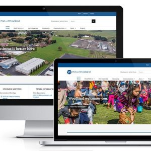 Port of Woodland WordPress Website