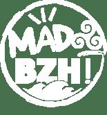 logo MAD BZH blanc