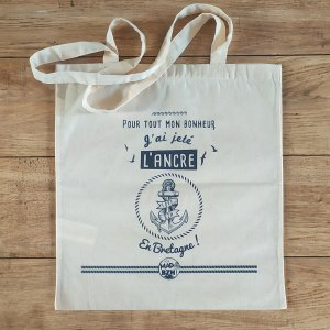 Tote bag Ancre MAD BZH