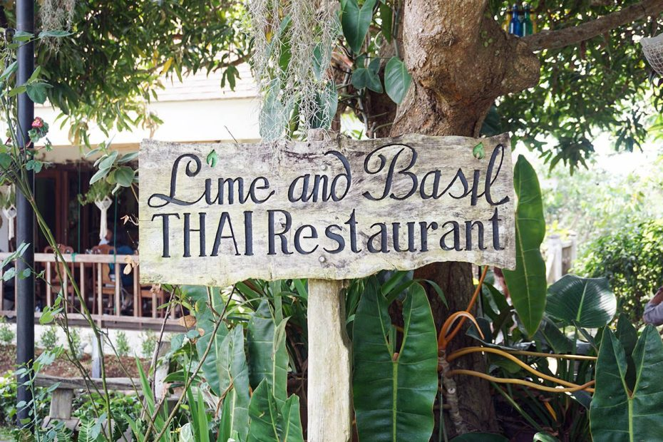 Lime and Basil is a Thai restaurant in Alfonso, Cavite.