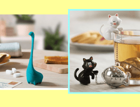 You must have these cute tea infusers in your collection.