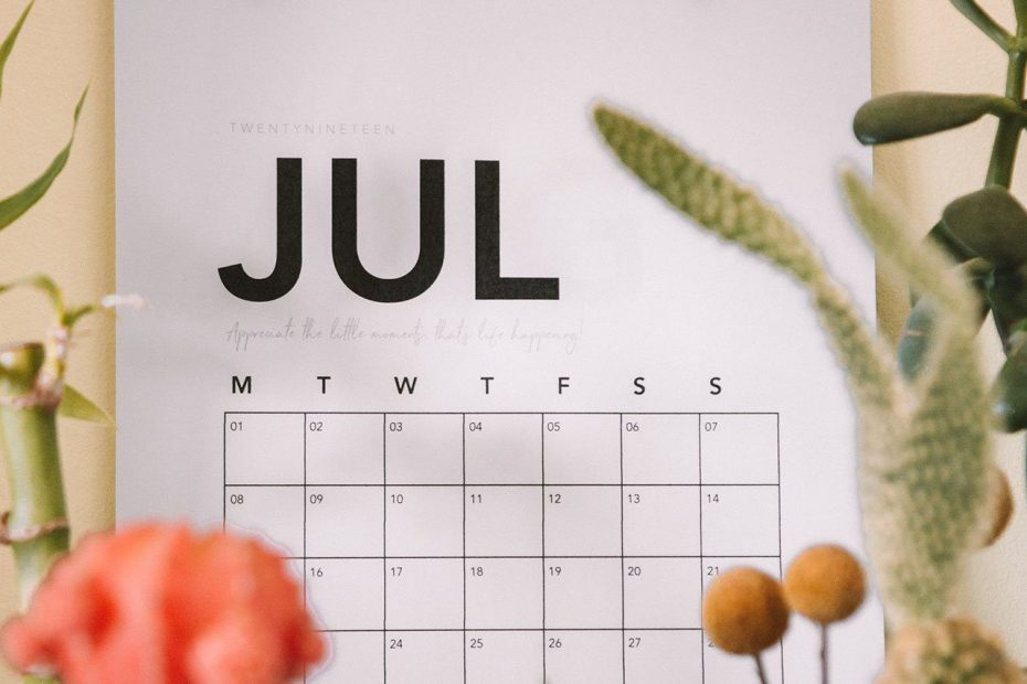 July Is January