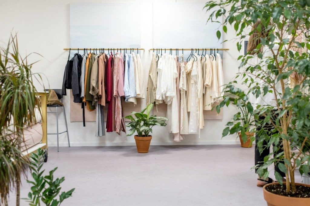 One of the most sustainable fashion tips to follow is to buy less than you think you need.