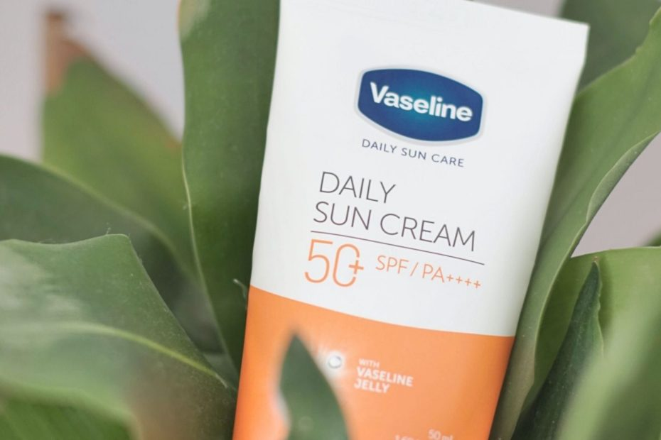 A quick review of the Vaseline Daily Sun Cream