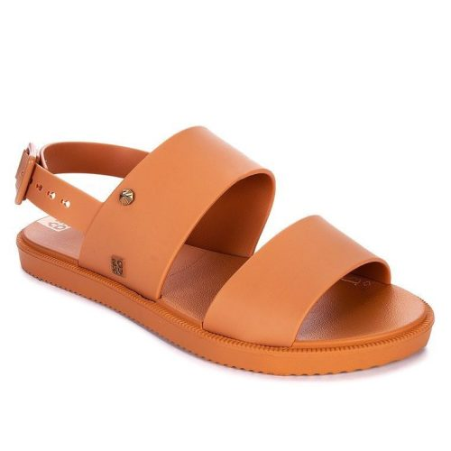 Zaxy Link Sand and Nude Sandals