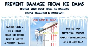 Ice Dam Prevention Wisconsin