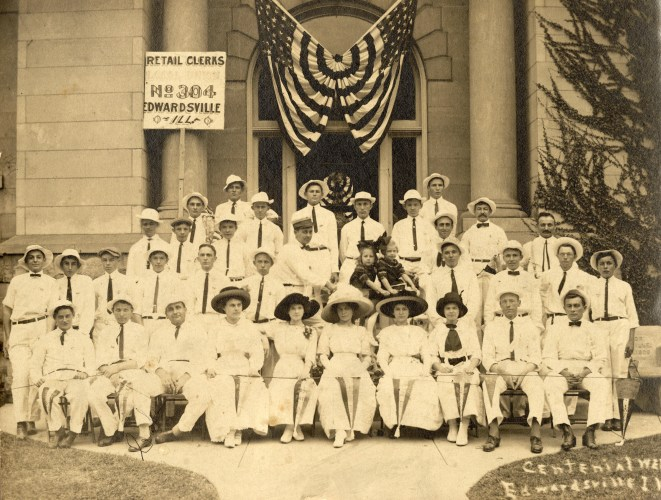 Retail Clerks Local Union #304, Edwardsville, 1912