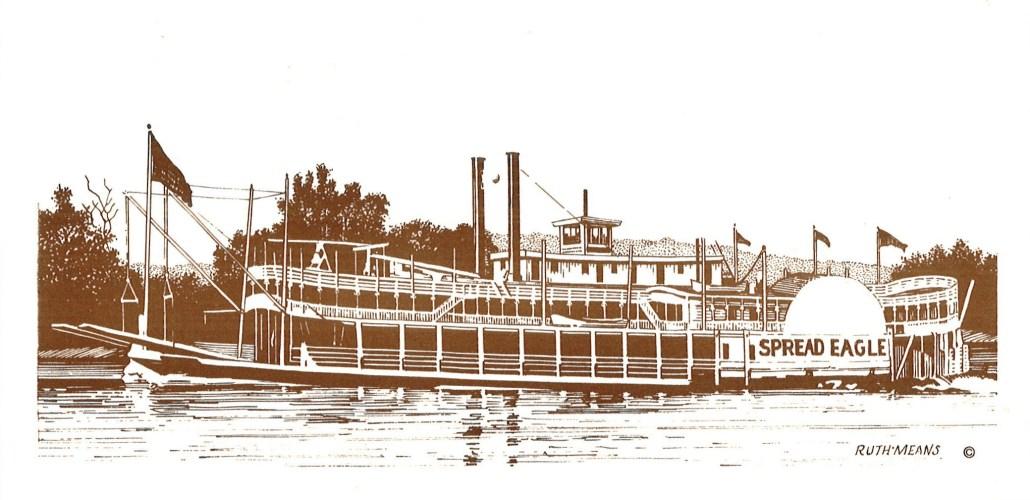 Spread Eagle steamboat